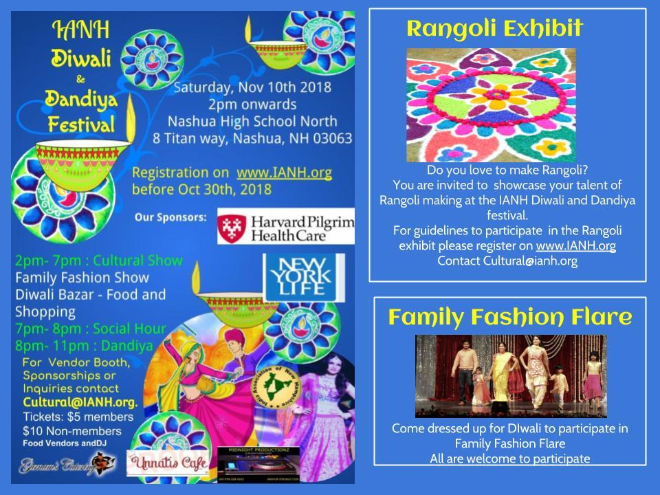 IANH - IANH Diwali and Dandiya festival 2018