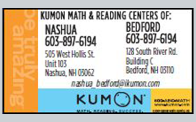 Kumon of Nashua, Bedford NH